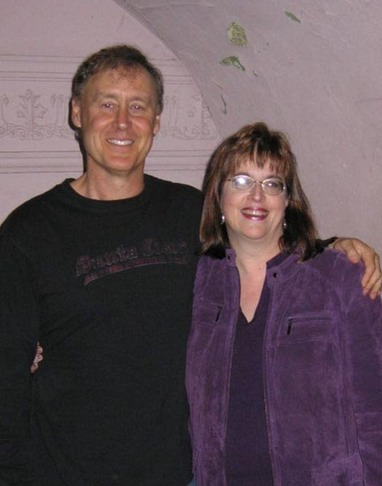 Eileen and her favorite musician and friend, Bruce Hornsby